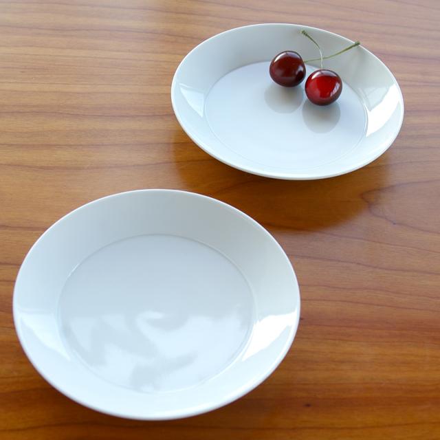 陶房青 白磁5寸皿