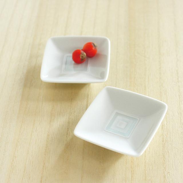 【和食器通販ショップ藍土な休日】期間限定販売! 白山陶器 升目紋豆皿
