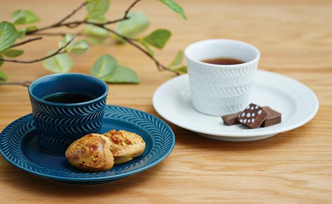 藍土 藍土な休日 和食器 通販 波佐見焼 翔芳窯 ローズマリー ナチュラル
